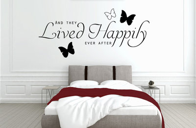 And they lived happily ever after slaapkamer