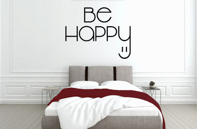Be happy slaapkamer