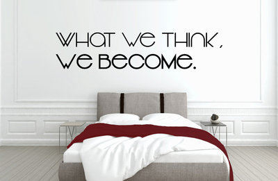 What we think we become slaapkamer