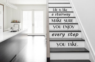 Life is like a stairway trap