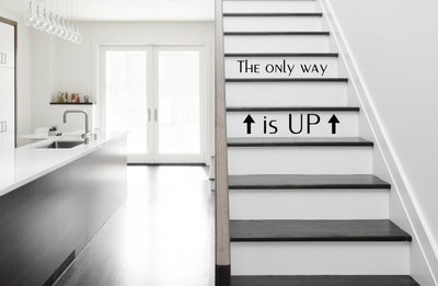 The only way is up trap