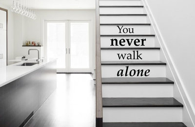 you never walk alone trapsticker