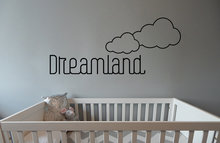 Muursticker dreamland