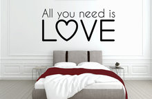 All you need is love slaapkamer