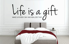 Life is a gift slaapkamer